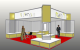 7m x 7m Messestand